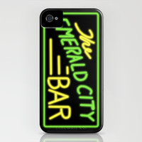 Greys Anatomy: The Emerald City Bar iPhone & iPod Case by drmedusagrey