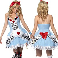 Alice In Wonderland Maid Halloween Costume