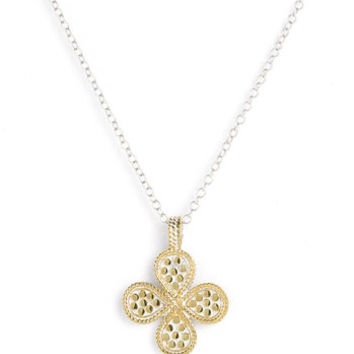 Women's Anna Beck 'Gili' Reversible Clover Pendant Necklace