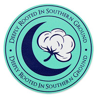 Crescent Cotton Deeply Rooted Decal