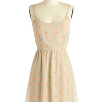 Apricot Your Gaze Dress | Mod Retro Vintage Dresses | ModCloth.com