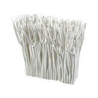 White Coppice Decorative Sculpture White