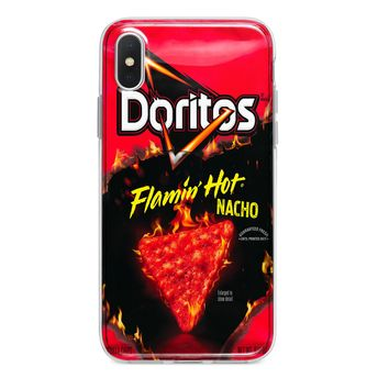 FLAMIN HOT NACHO CHIPS CUSTOM IPHONE CASE
