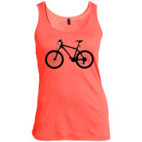 T.L.Mountain Bike Women's Scoop Neck Tank Top