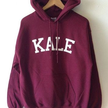 MDIGON KALE Women Fashion Hooded Top Pullover Sweater Sweatshirt
