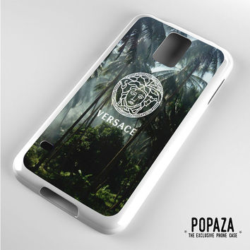 Versace logo palm tree Samsung Galaxy S5 Case