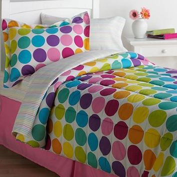 The Big One Polka-Dot Bed Set