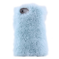 Cute Sky Blue Soft Fur Hard Cover P.. on Luulla