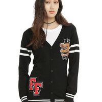 Five Nights At Freddy's Freddy Fazbear Girls Cardigan
