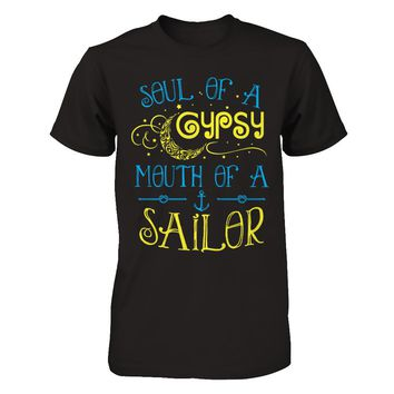 Soul Of A Gypsy Mouth Of A Sailor V1 T-Shirt