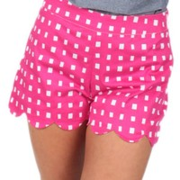 Hide Away Shorts in Pink   Monday Dress Boutique