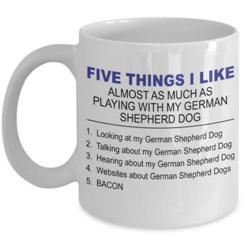 Five Thing I Like About My German Shepherd Dog