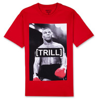 TEES - GRAPHIC - Peoples Champ Trill Tyson Tee - Red - Buy Online at DTLR