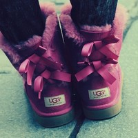 bailey bow uggs purple - Google Search