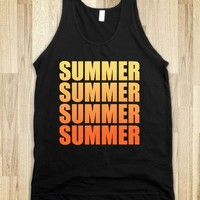 Summer dark tank top