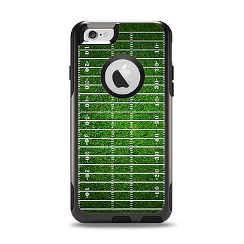 The Green Turf Football Field Apple iPhone 6 Otterbox Commuter Case Skin Set