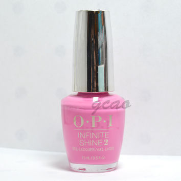 OPI Infinite Shine Gel Effects Nail Lacquer Polish two timing the zones ISLF80