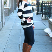 The Bold and the Beautiful Sweater - Black