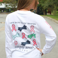 Simply Southern Long Sleeve - Pink Ribbon