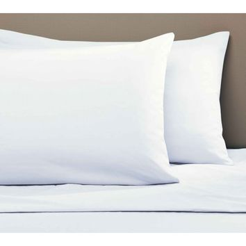 Mainstays 200-Thread-Count Standard/Queen Pillowcases, Arctic White Set of 2 - Walmart.com