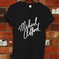Michael Clifford Shirt, 5SOS Shirt, 5 Second Of Summer Shirt, 5Sos Tshirt, 5Sos T Shirt, 5Sos Tee, Shirt Black or White RF-11