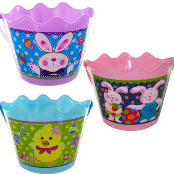 easter bucket with handle Case of 12