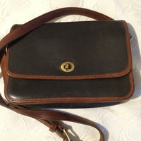 Vintage Leather Classic Flap Bag Crossbody