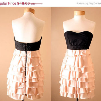 1 DAY SALE Evan Corset Strapless Dusty Pink by PYTboutique on Etsy