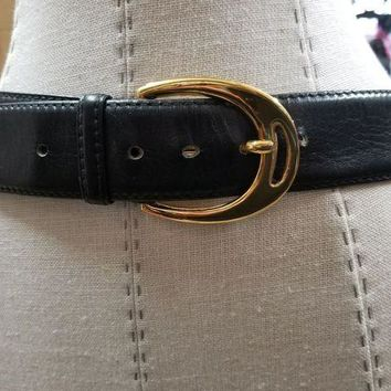 NOVO5 Vintage 100% Authentic GUCCI Women's Belt Size 105