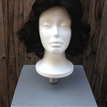 Snow White Version D Inspired Wig With Headband Bow Screen Quality Custom Couture Styled