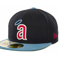 Los Angeles Angels of Anaheim MLB Cooperstown Patch 59FIFTY Cap