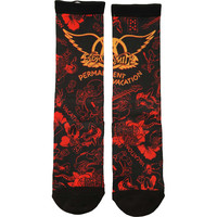 Aerosmith  Socks Black Rockabilia