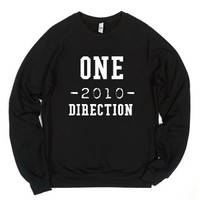 One -2010- Direction-Unisex Black Sweatshirt