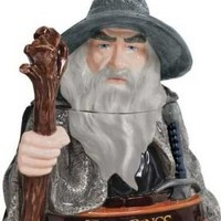 Westland Giftware Ceramic Cookie Jar, 11.25-Inch, The Lord of The Rings Gandalf The Grey