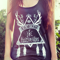Secret Society of Positive Vibes - Spiritual Yoga Top