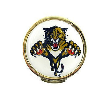 Florida Panthers Golfers Hat Clip with Golf Ball Marker