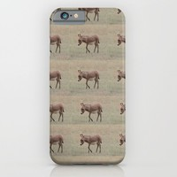 Baby Donkey Multiplied iPhone & iPod Case by Veronica Ventress