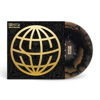Around The World And Back Black/Gold/Grey & White Splatter Gatefold : PNE0 : State Champs