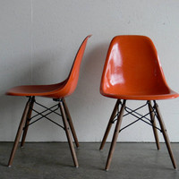 Eames for Herman Miller Dowel Base Side Chair-DSW (Set of 2)-FREE SHIPPING
