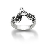 Flowers & Bee Ring | James Avery