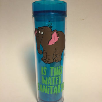Tantor Skinny 16oz Tumbler, Is this water sanitary, inspired by Disney's Tarzan BPA free
