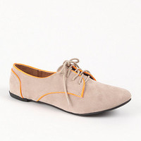 Qupid Salya Oxford Flats at PacSun.com