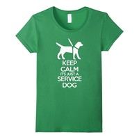 Keep Calm Service Dogs Tshirt