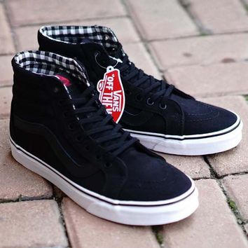 One-nice™ Vans High-Top Canvas Flats Sneakers Sport Shoes