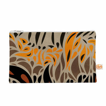 "Viviana Gonzalez ""Africa - Abstract Pattern I"" Brown Orange Everything Bag"