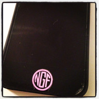 iPhone or iPad Home Button Monograms