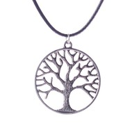 Casual Tree Life Pendant Necklace