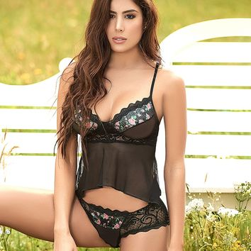 Fly-Away Cami Set