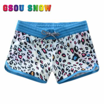 New summer Surfing shorts printing style boardshorts swimwear shorts women surfing board surf shorts Quick-dry running shorts
