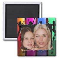 Create your own photo 2 inch square magnet